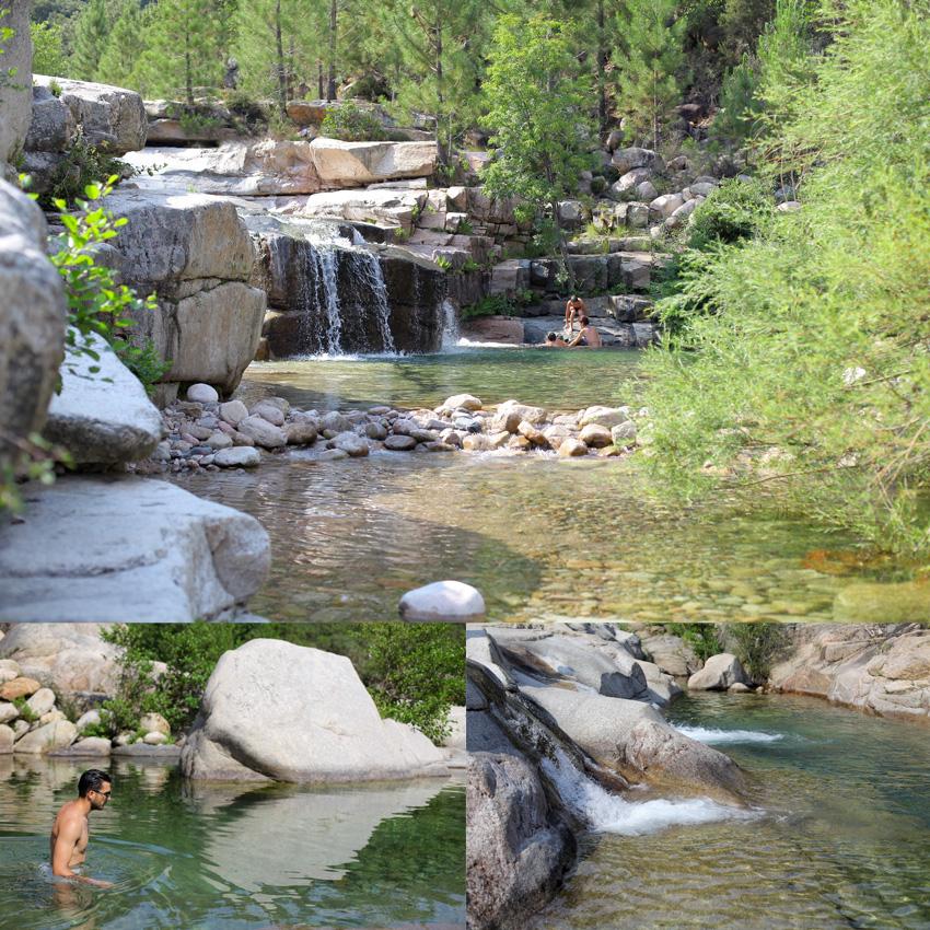 Corse cap sur les piscines naturelles on met les for Les piscines