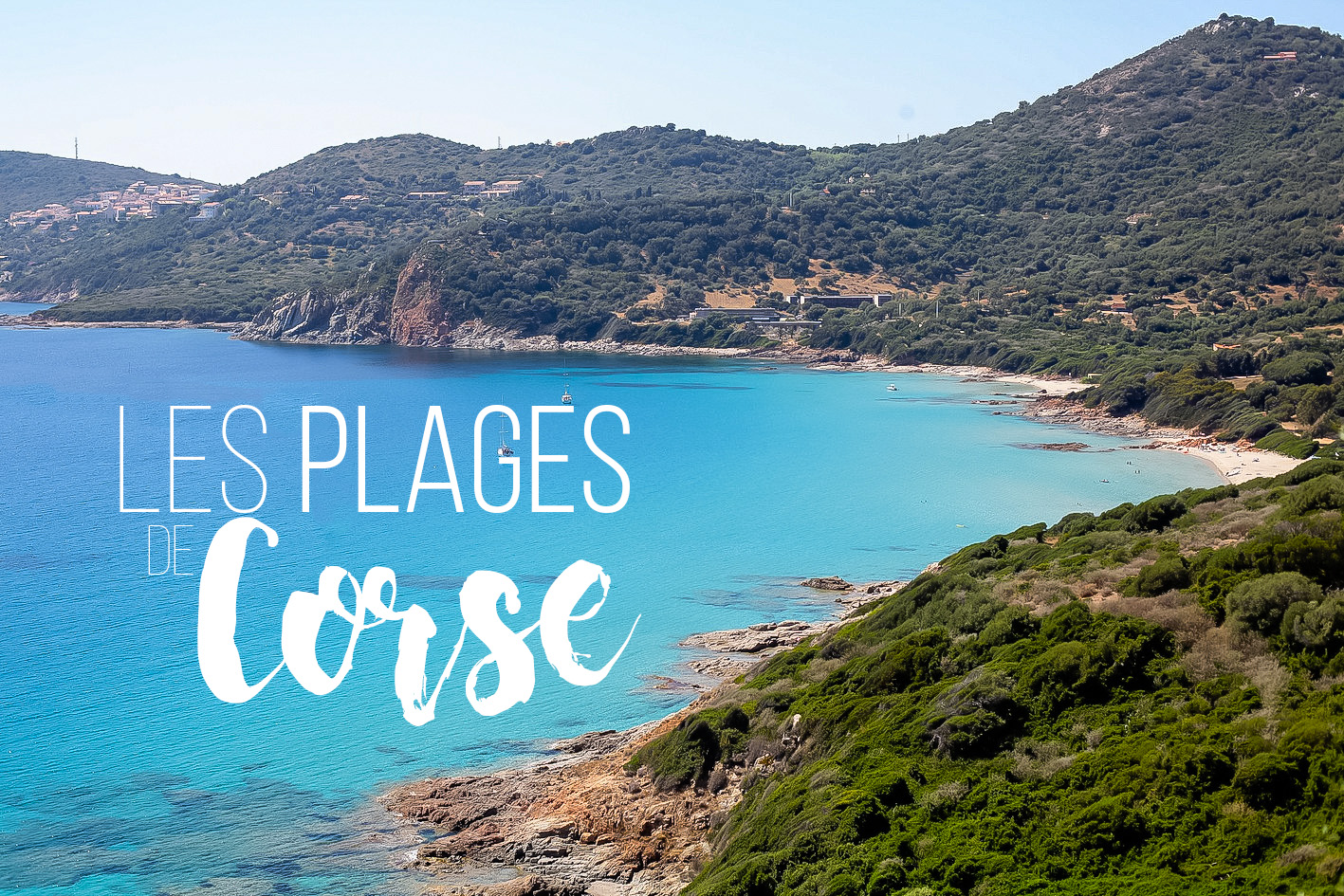 top 5 plage corse