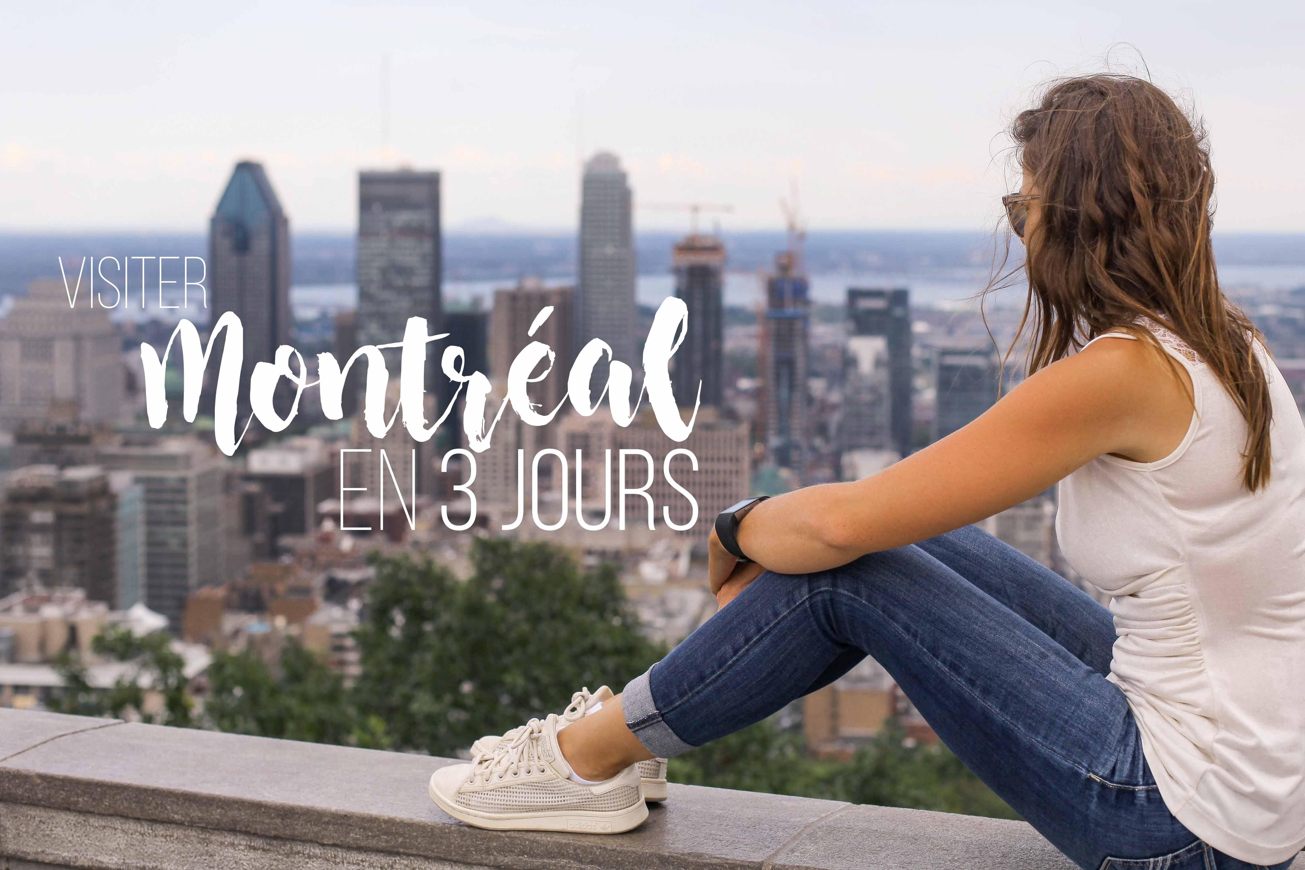Montreal en 3 jours