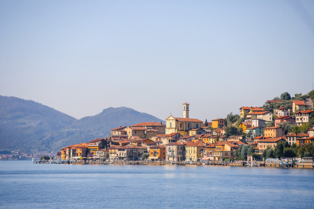 Lombardie Lac d iseo