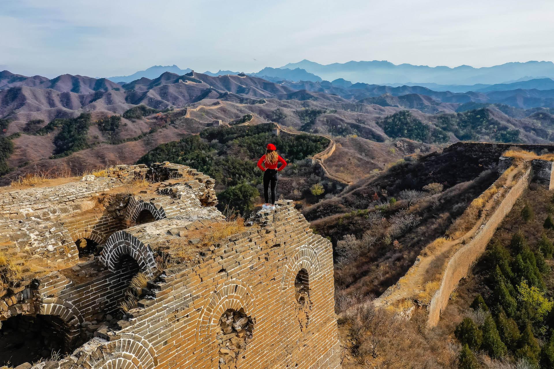 Muraille de chine Pékin