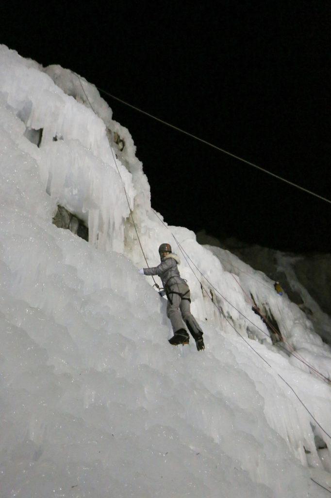escalade sur glace queyras