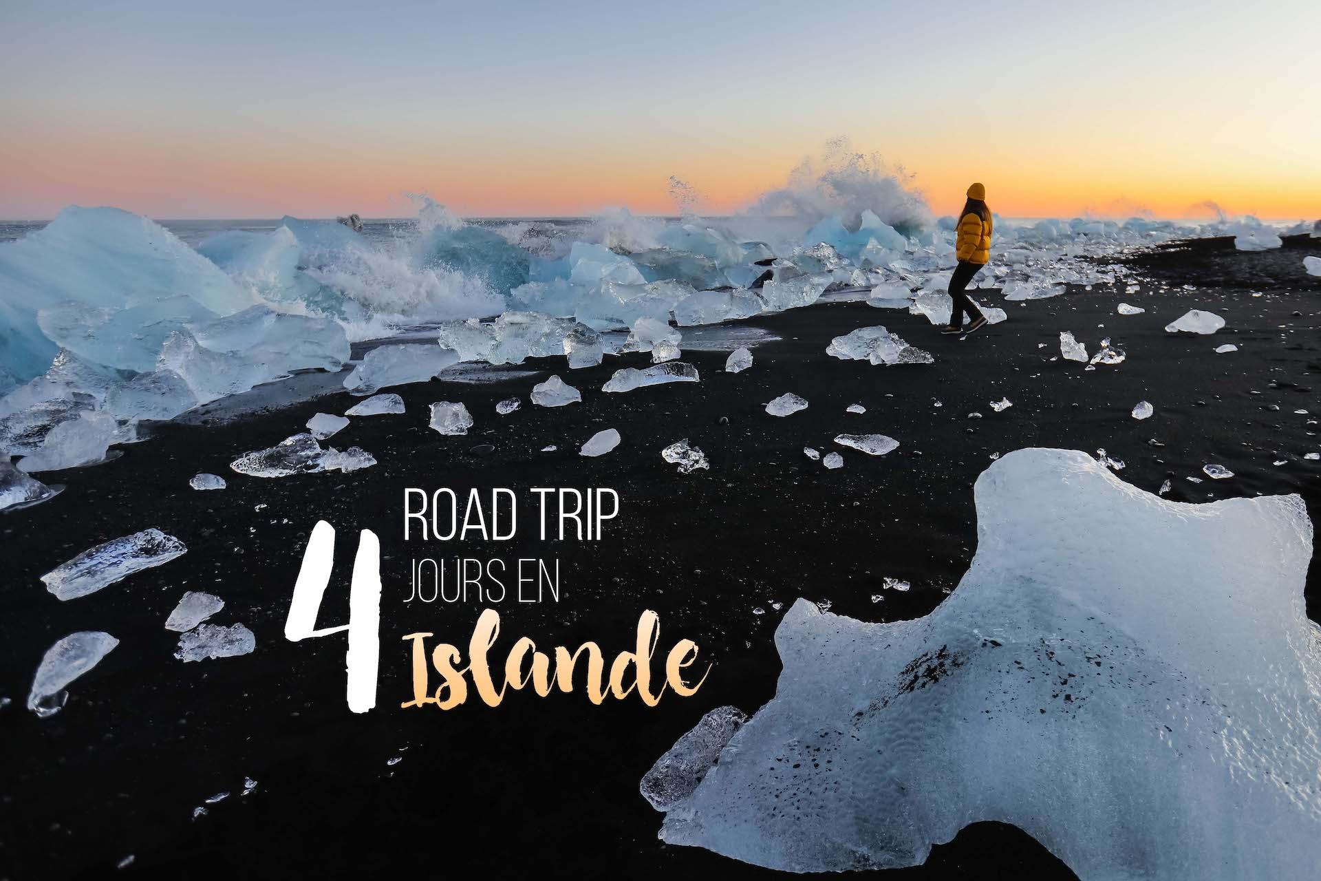 road trip en Islande - itineraire de 4 jours