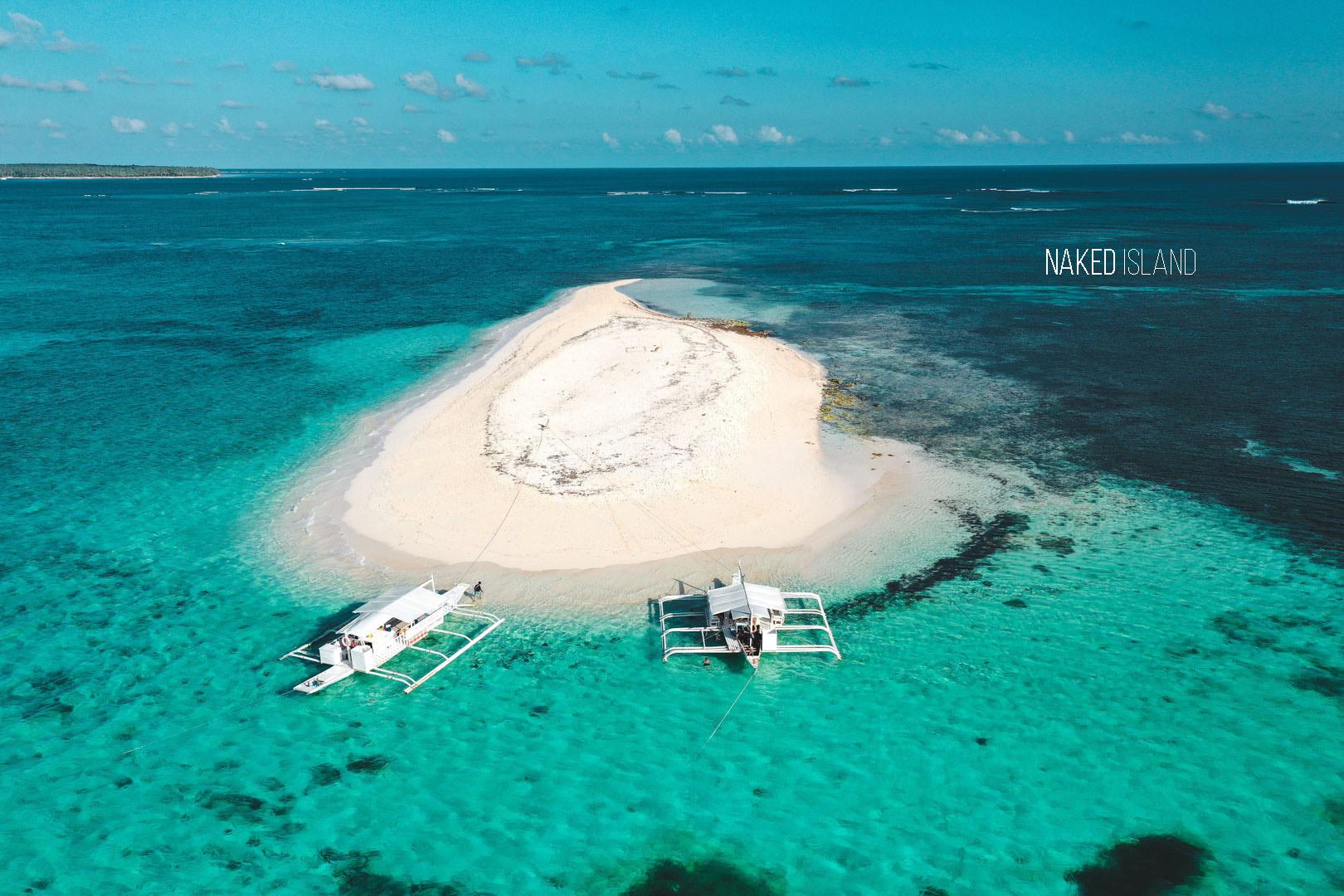 Naked Island Siargao Island Philippines #marajaw karajaw #