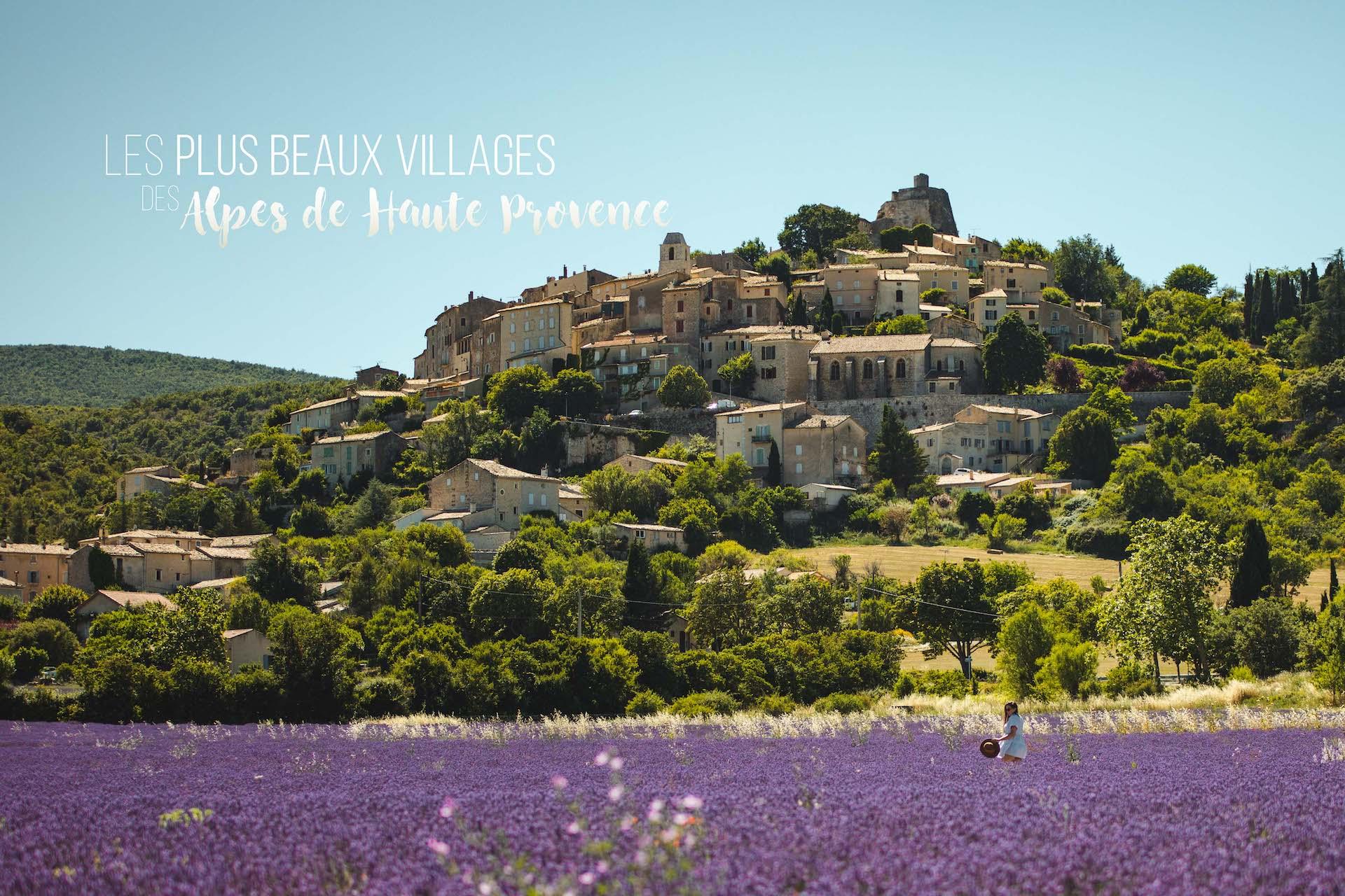 villages alpes de haute provence
